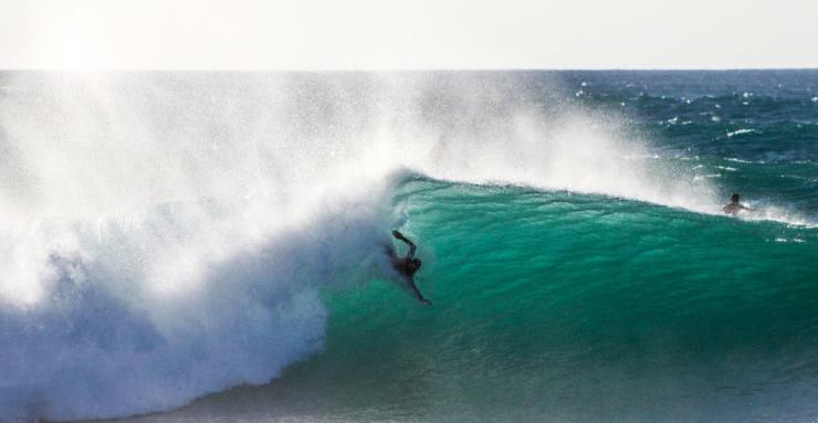 bodysurfing pipeline