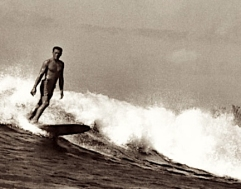 Buffalo at Makaha Photo: Encyclopedia of Surfing- Don James
