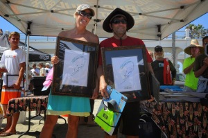Grand Champions: Calla Allison and Brett Templeman Photo: Rod Hepburn