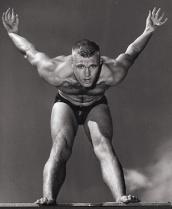 Jon Henricks member of he Speedo sponsored Australian 1956 swim team. Photo:  Ern McQuillan