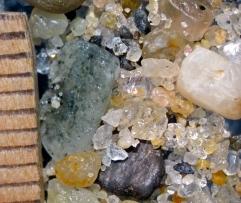 Orange County, CA. Coarse grains.