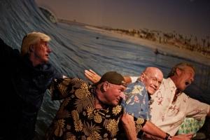 Mark Cunningham, Hal Handley, Fred Simpson and Bill Schlidge