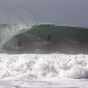 Newport Point- Hurricane Marie Photo: Hank Haldeman