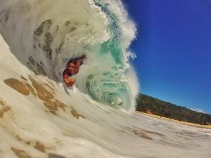 Kaha nalu in Hawaii. Image: Keali'i Punley