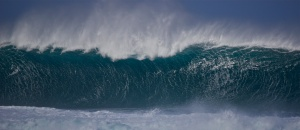 Trade winds on the North Shore of Oahu