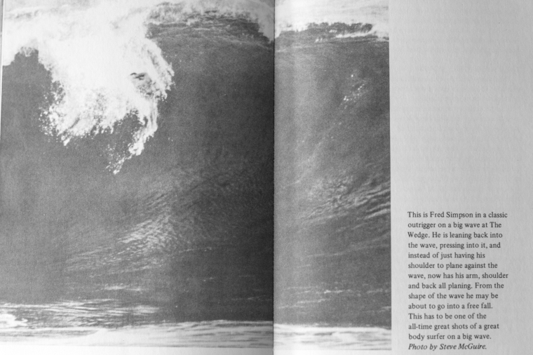 Fred Simpson in the Art of Body Surfing