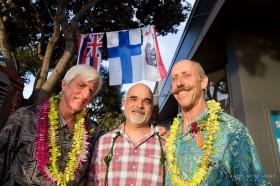 Mark Cunningham, John Lindsey and Jonathan Steinberg Photo: Daniel McElmury