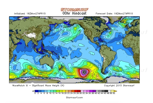 Powerful swell producer in the Southern Hemisphere. Image: StormSurf
