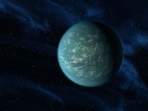 Artist's conception of an Ocean Planet Credit: NASA