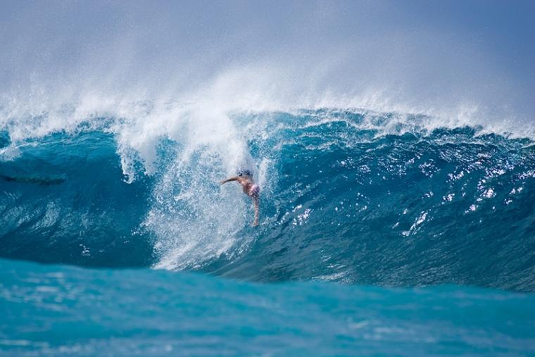 Pipeline Bodysurfing Classic- Ryan Hailstones