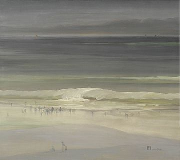The Seashore- Leon Dabo 1900