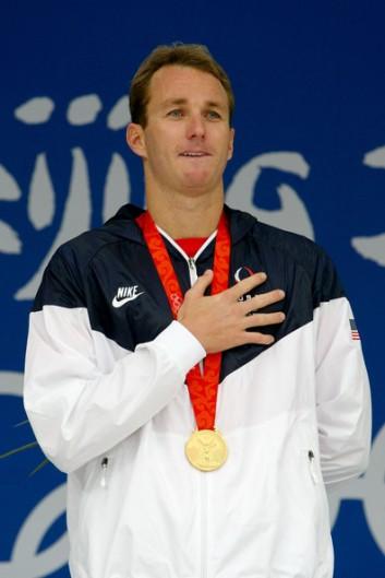 Aaron Peirsol- Gold Medalist Beijing 2008 Photo: IOC