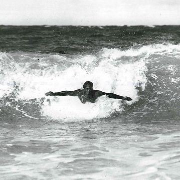 Duke the Bodysurfer.