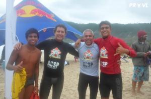 "Breno ""Batman"" , Mark Drewelow, Fredinho and Gabriel Sampaio Photo: Pervaleo"