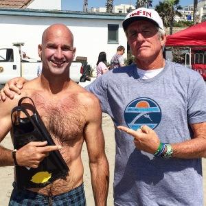 Mike and Mark: elite level bodysurfing.