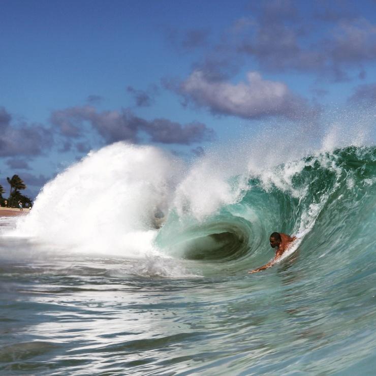 Hawaiian Shoulders.