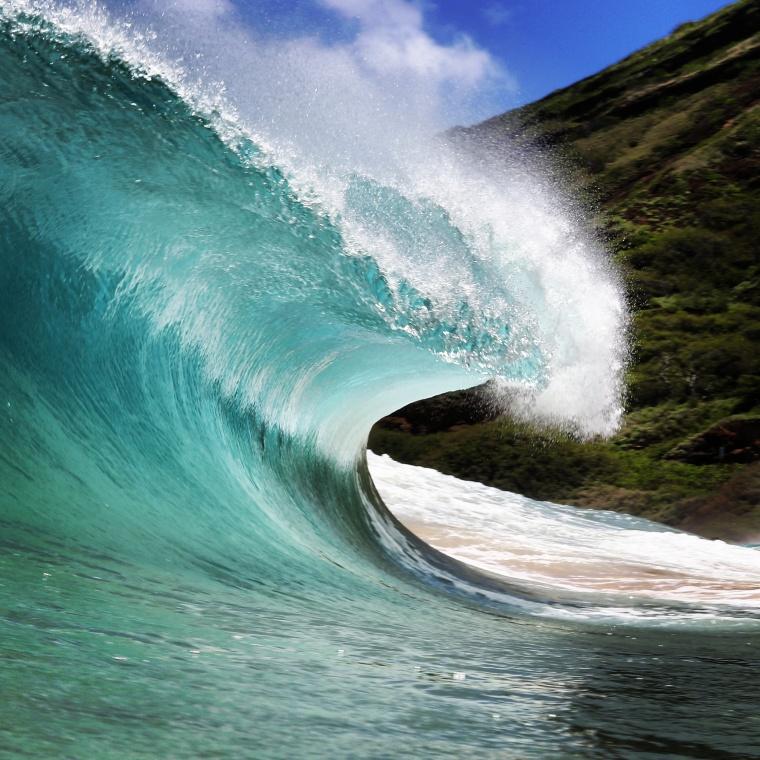 Sandy's wave.