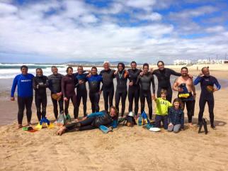 Portuguese crew with Mark Cunningham Photo-Alexandru Alexa