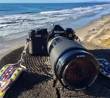 Nikon FM2 (1982). 80-200mm lens.