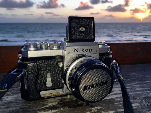 Nikon F (1959). 50mm lens.