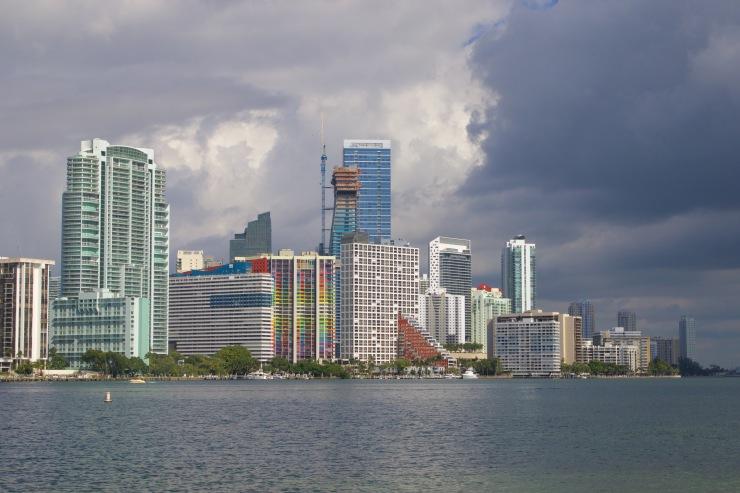 Miami, Florida. Sometimes South Florida even has waves.