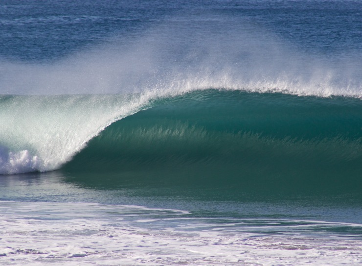 Perfect Wave for Bodysurfing