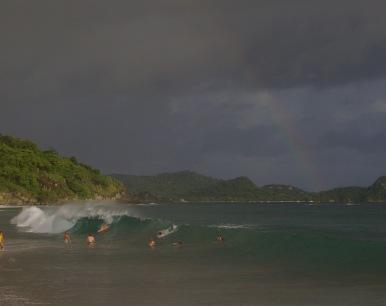 Rainbow womp.