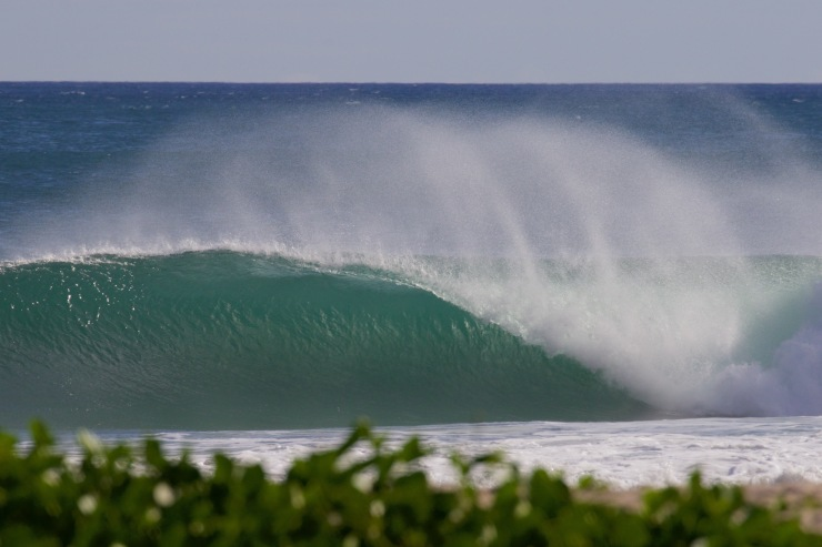 Perfect waves in Nicaragua