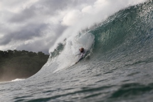Bodysurfing in Nicaragua