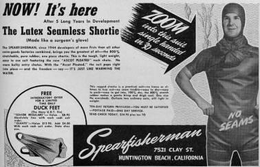 Duck Feet Advertisement