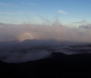 Brocken Spectre Maui Hawaii