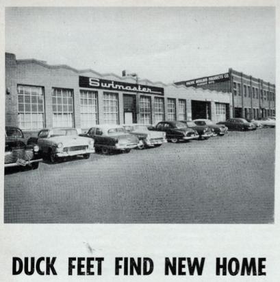 History of Duck Feet Fins